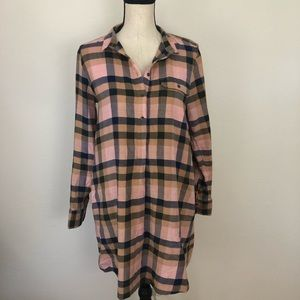 Anthropologie Lou & Grey Shirt Dress XS